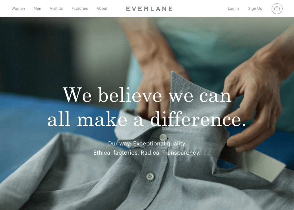 Everlane - about